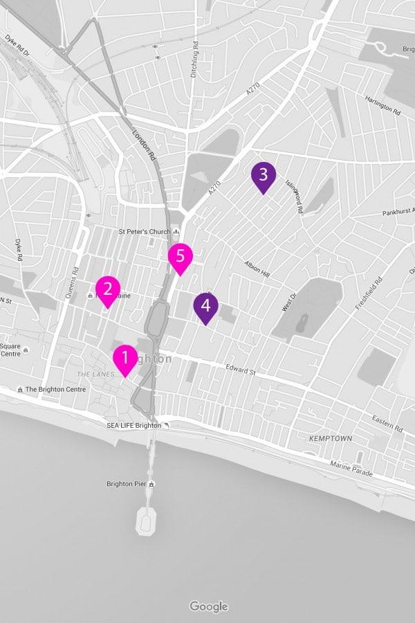 Styled Google maps