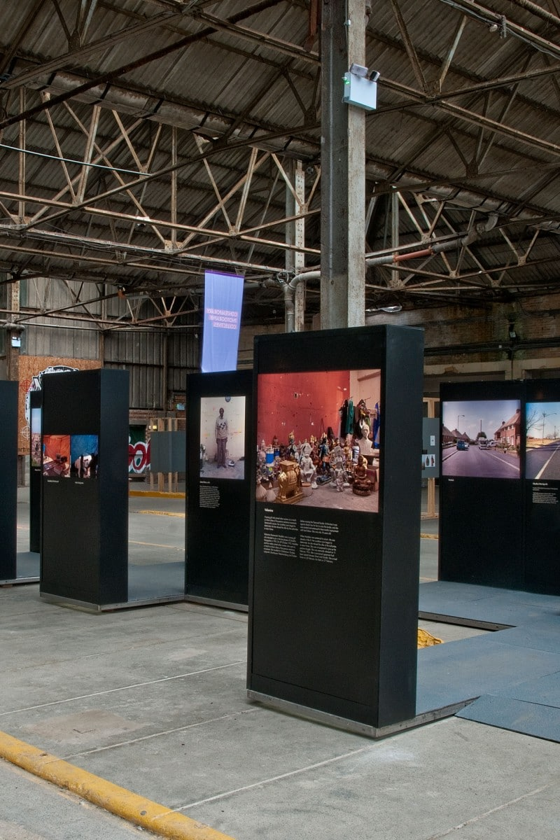 Photograph of a BPB exhibition by Nigel Green