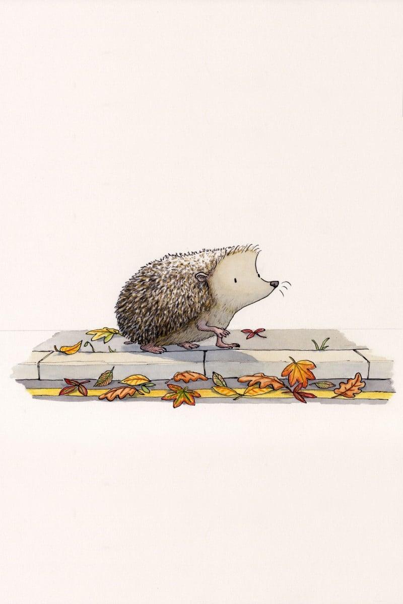 Children's illustration by Layn Marlow