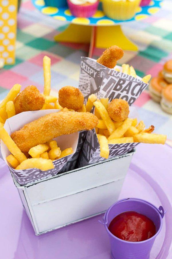 Kids food photograph