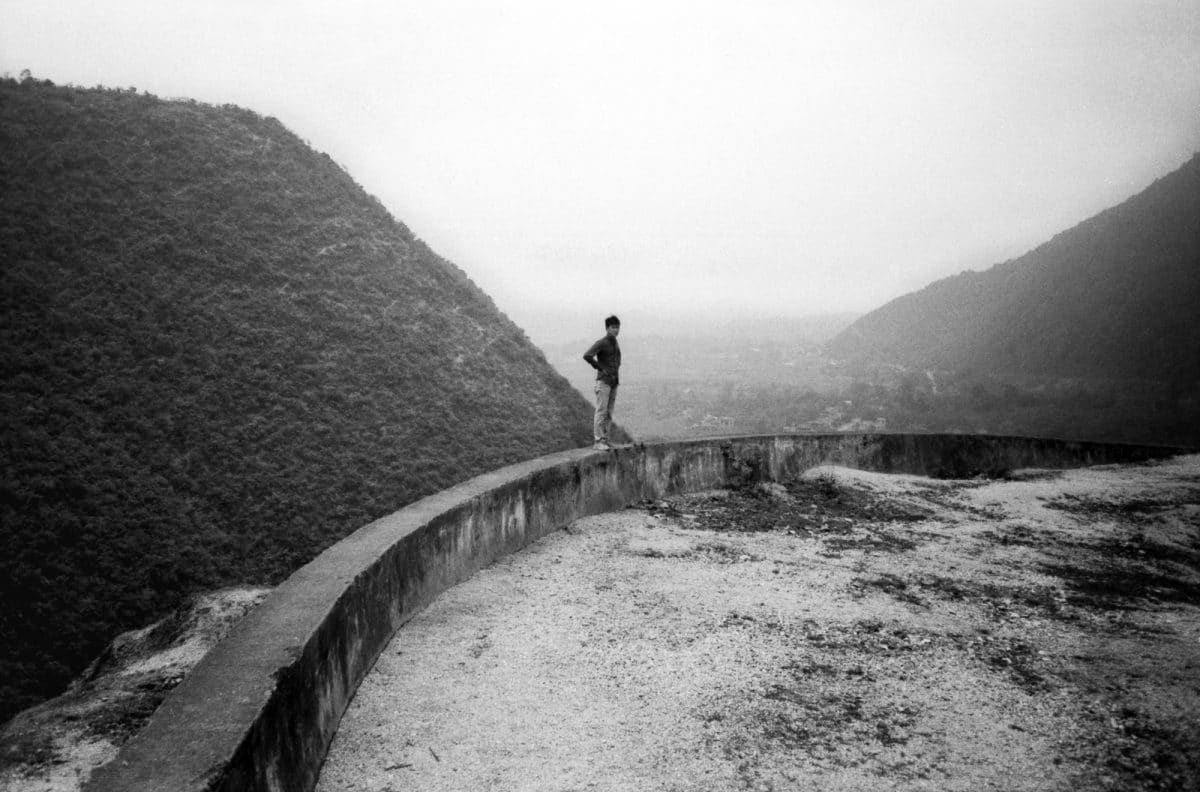 Photograph of a man in Vietnam by Kevin Beck